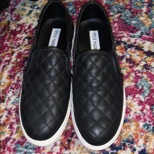 Black Steve Madden sneakers